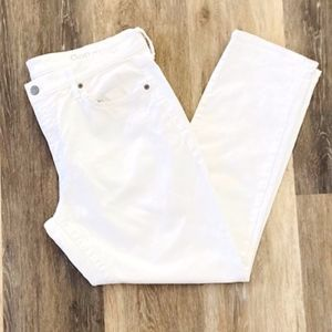 Gap | White Denim Straight Leg Pants Size 31r